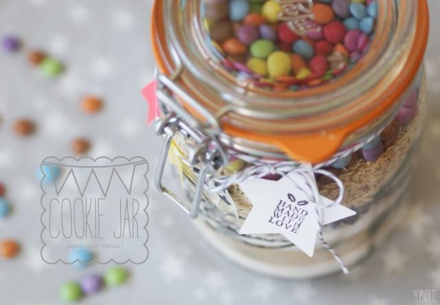 Cookie Jar Smarties Cookies Pom Pom By Pomverte